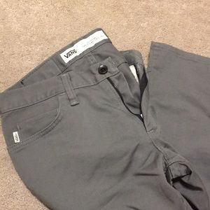 8f13ea6dd1 Vans off the wall grey pants